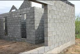 дом из бетонных блоков